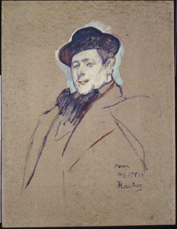 Henri-Gabriel Ibels (1892-93)   Henri de Toulouse-Lautrec   oil painting