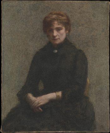 Portrait of a Woman (1885)   Henri Fantin-Latour   oil painting