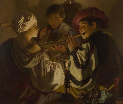 The Concert   Hendrick ter Brugghen   oil painting