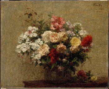 Summer Flowers (1880) | Henri Fantin-Latour | oil painting