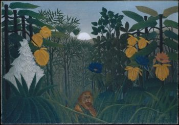 The Repast of the Lion (ca. 1907) | Henri Rousseau | oil painting
