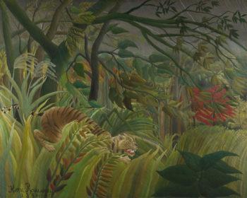 Surprised! | Henri Rousseau | oil painting