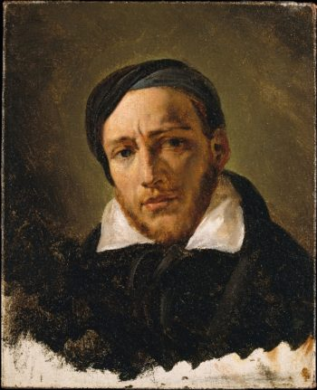 Jean-Louis-Andre-Theodore Gericault (prob 1822 or 1823) | Horace Vernet | oil painting