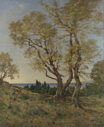 Olive Trees at Menton | Henri-Joseph Harpignies | oil painting