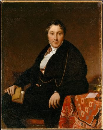 Jacques-Louis Leblanc (1823) | Jean-Auguste-Dominique Ingres | oil painting