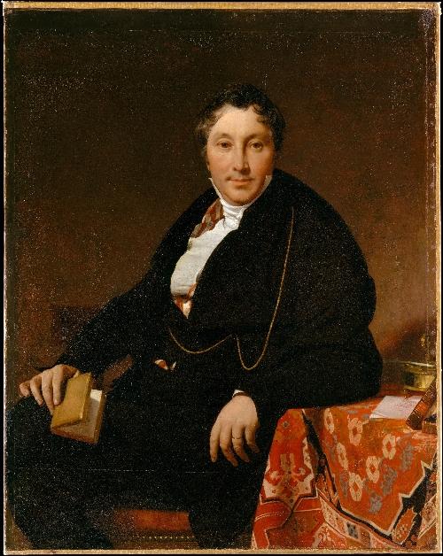 Jacques-Louis Leblanc (1823)   Jean-Auguste-Dominique Ingres   oil painting
