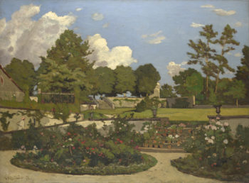 The Painter's Garden at Saint-Priva | Henri-Joseph Harpignies | oil painting