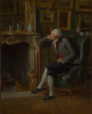 The Baron de Besenval in his Salon de Compagnie | Henri-Pierre Danloux | oil painting