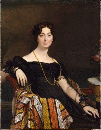 Madame Jacques-Louis Leblanc (1823)   Jean-Auguste-Dominique Ingres   oil painting