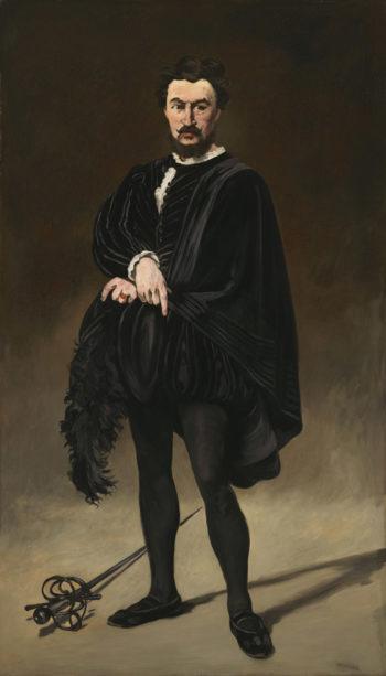 The Tragic Actor (Rouvi?re as Hamlet)