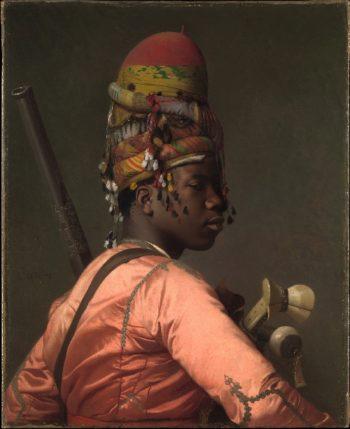 Bashi-Bazouk (1868-69) | Jean-Leon Gerome | oil painting