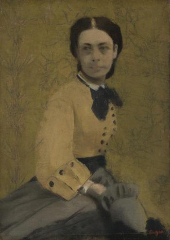 Princess Pauline de Metternich | Hilaire-Germain-Edgar Degas | oil painting