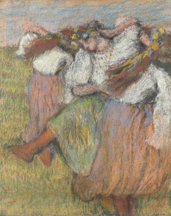Russian Dancers | Hilaire-Germain-Edgar Degas | oil painting