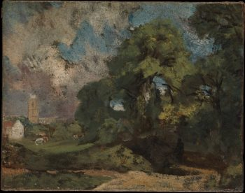 Stoke-by-Nayland | John Constable | oil painting