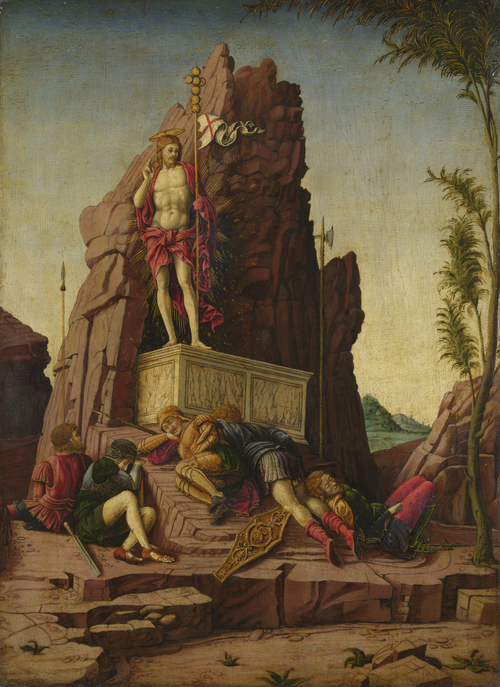 The Resurrection | Imitator of Andrea Mantegna | oil painting