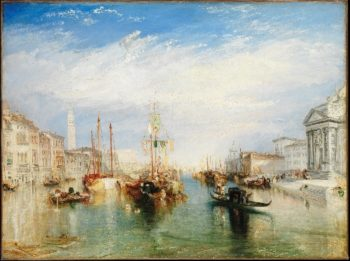 Venice from the Porch of Madonna della Salute (ca 1835) | Joseph Mallord William Turner | oil painting