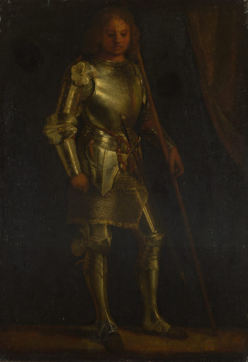 A Man in Armour | Imitator of Giorgione | oil painting