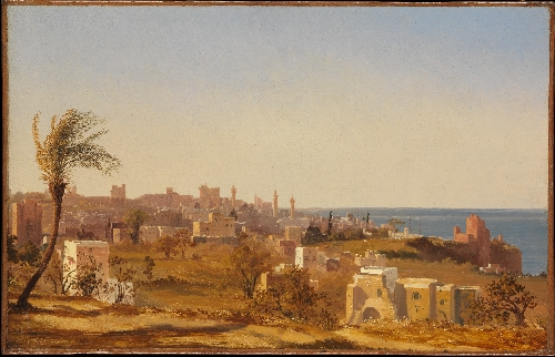 View of Beirut (1844) | Jules Coignet | oil painting