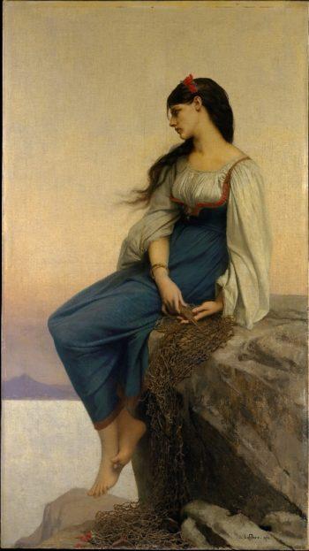 Graziella (1878) | Jules-Joseph Lefebvre | oil painting