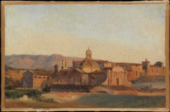 Convent at Subiaco (1827-29) | Leon Fleury | oil painting