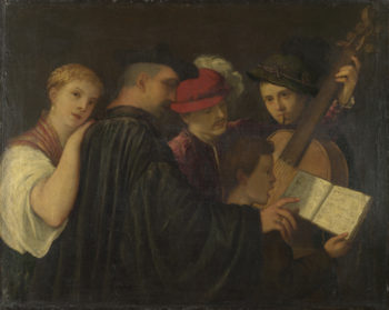 A Concert | Imitator of Titian | oil painting