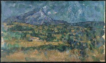 Mont Sainte-Victoire (ca 1902-06) | Paul Cezanne | oil painting