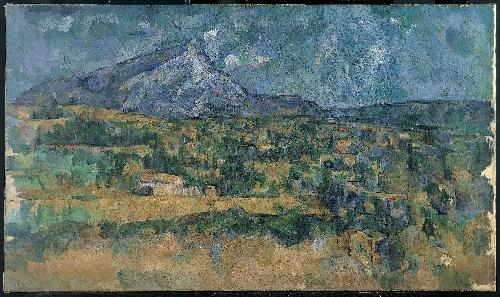 Mont Sainte-Victoire (ca 1902-06) | Paul Cezanne | oil painting