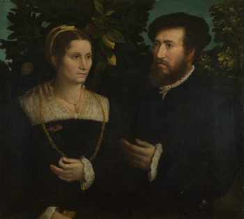 A Man and his Wife | Italian | oil painting