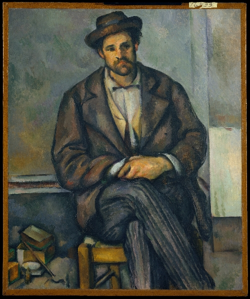 Seated Peasant (ca 1892-96) | Paul Cezanne | oil painting