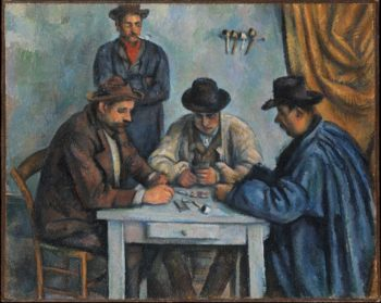 The Card Players (1890-92) | Paul Cezanne | oil painting