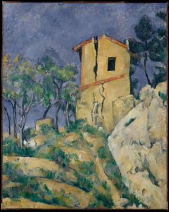 The House with the Cracked Walls (1892-94) | Paul Cezanne | oil painting