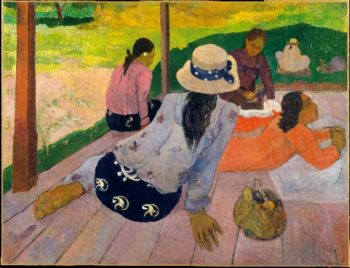 The Siesta (ca 1892-94) | Paul Gauguin | oil painting