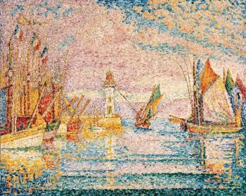 Lighthouse at Groix (1925) | Paul Signac | oil painting
