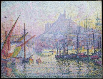 Notre-Dame-de-la-Garde (La Bonne-Mere) Marseilles (1905-6) | Paul Signac | oil painting