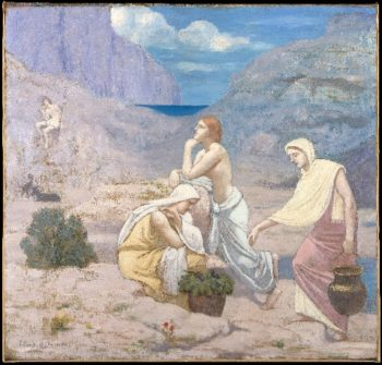 The Shepherd's Song (1891) | Pierre Puvis de Chavannes | oil painting