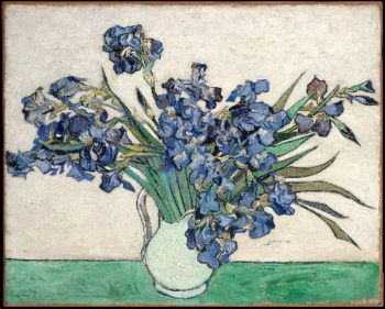 Irises (1890) | Vincent van Gogh | oil painting