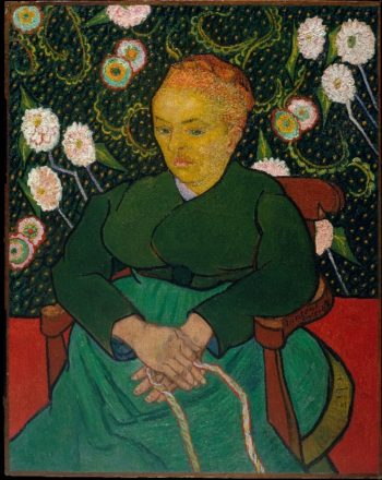 La Berceuse (1889) | Vincent van Gogh | oil painting
