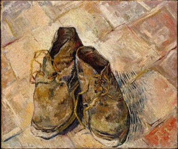 Shoes (1888) | Vincent van Gogh | oil painting