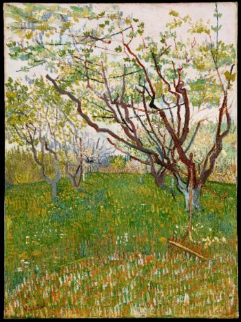 The Flowering Orchard (1888) | Vincent van Gogh | oil painting