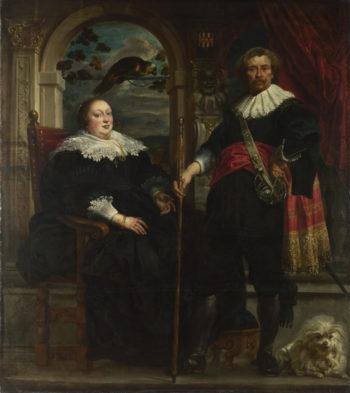 Portrait of Govaert van Surpele and his Wife   Jacob Jordaens   oil painting