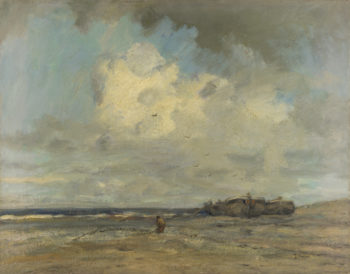 A Beach | Jacob Maris | oil painting