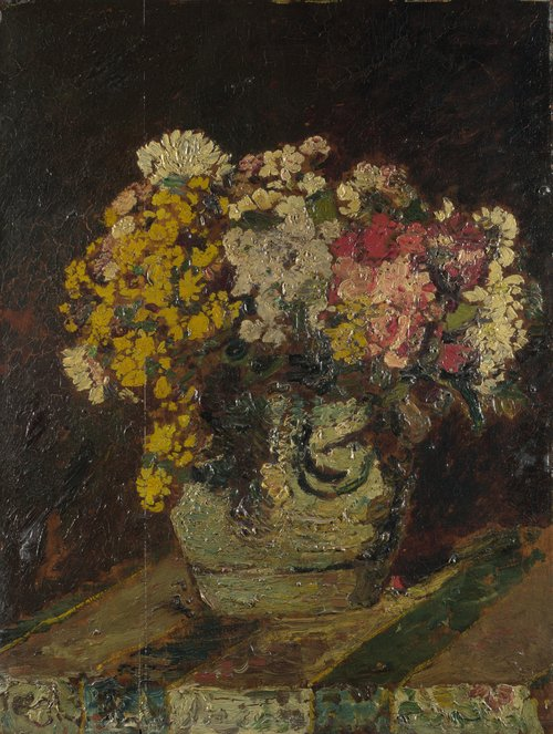 A Vase of Wild Flowers | Adolphe Monticelli | oil painting