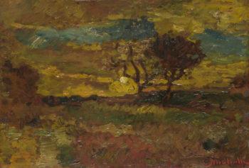 Sunrise | Adolphe Monticelli | oil painting