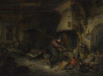 An Alchemist | Adriaen van Ostade | oil painting