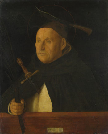 A Dominican, with the Attributes of Saint Peter Martyr Giovanni Bellini