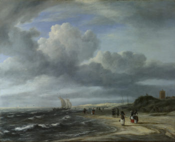 The Shore at Egmond-aan-Zee | Jacob van Ruisdael | oil painting