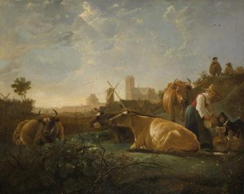 The Large Dort | Aelbert Cuyp | oil painting