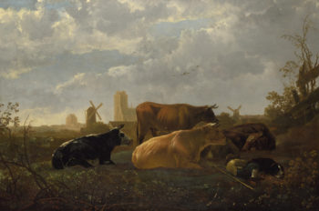 The Small Dort | Aelbert Cuyp | oil painting