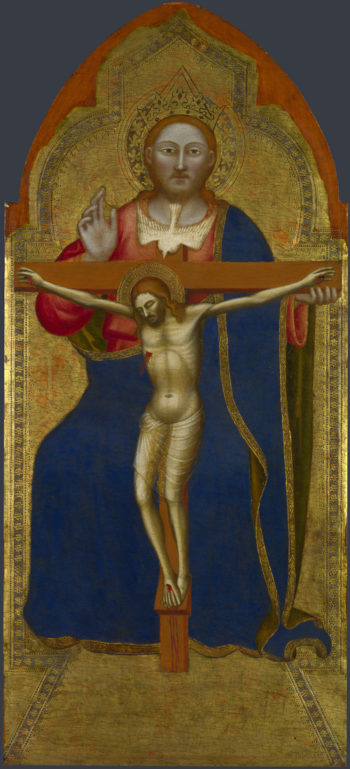 The Trinity | Jacopo di Cione and workshop | oil painting