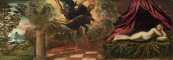 Jupiter and Semele | Jacopo Tintoretto | oil painting